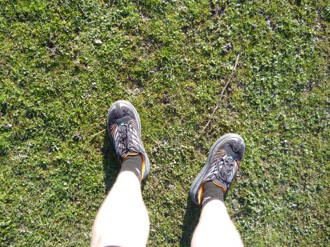 Sore toes from the HokaOneOne Mafate