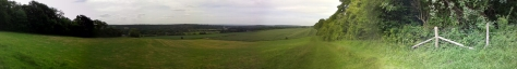 Another Panoramic Shot, this is from the Oxted Downs