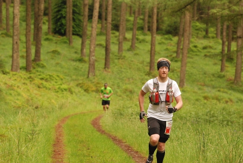 Me plodding along. Photo taken by sportspicturescymru